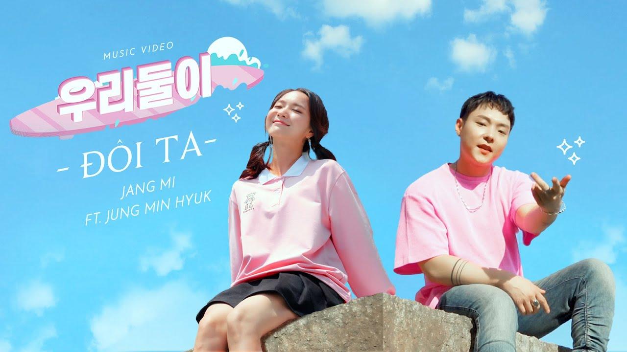 Jàn Mi và Jung Min Hyuk trong sản phẩm Đôi ta