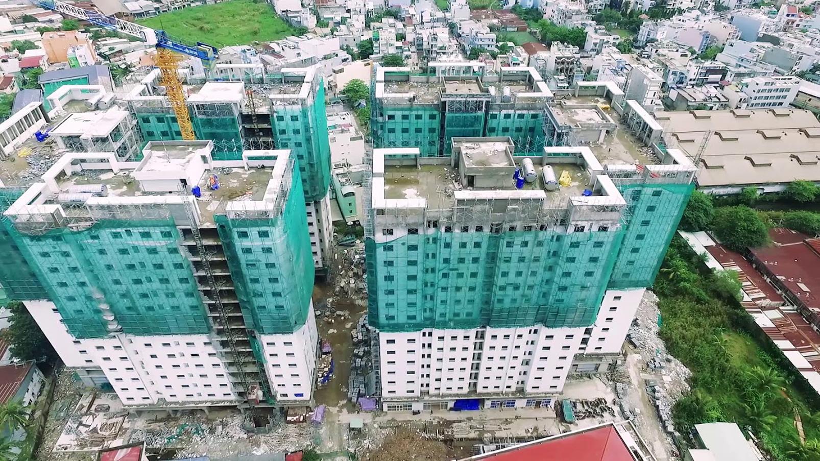 Lượng giao dịch căn hộ tại TP.HCM hiện đang sụt giảm mạnh nhất trong vòng 5 năm qua