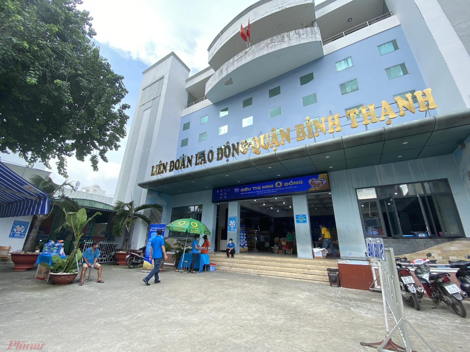 Ghi nhận của phóng viên báo Phụ Nữ TPHCM tạisiêu thị mini 0 số 290 đường Nơ Trang Long, quận Bình Thạnh, TPHCM vào chiều 11/7.