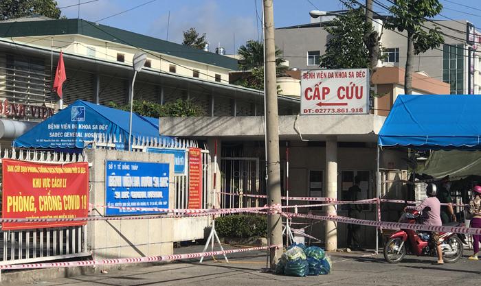Ổ dịch tại Bệnh viện đa khoa Sa Đéc, tỉnh Đồng Tháp