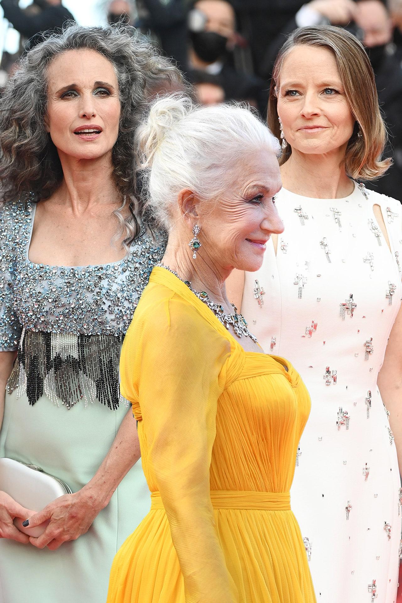 Xu hướng tóc bạch kim lên ngôi tại thảm đỏ Cannes 2021