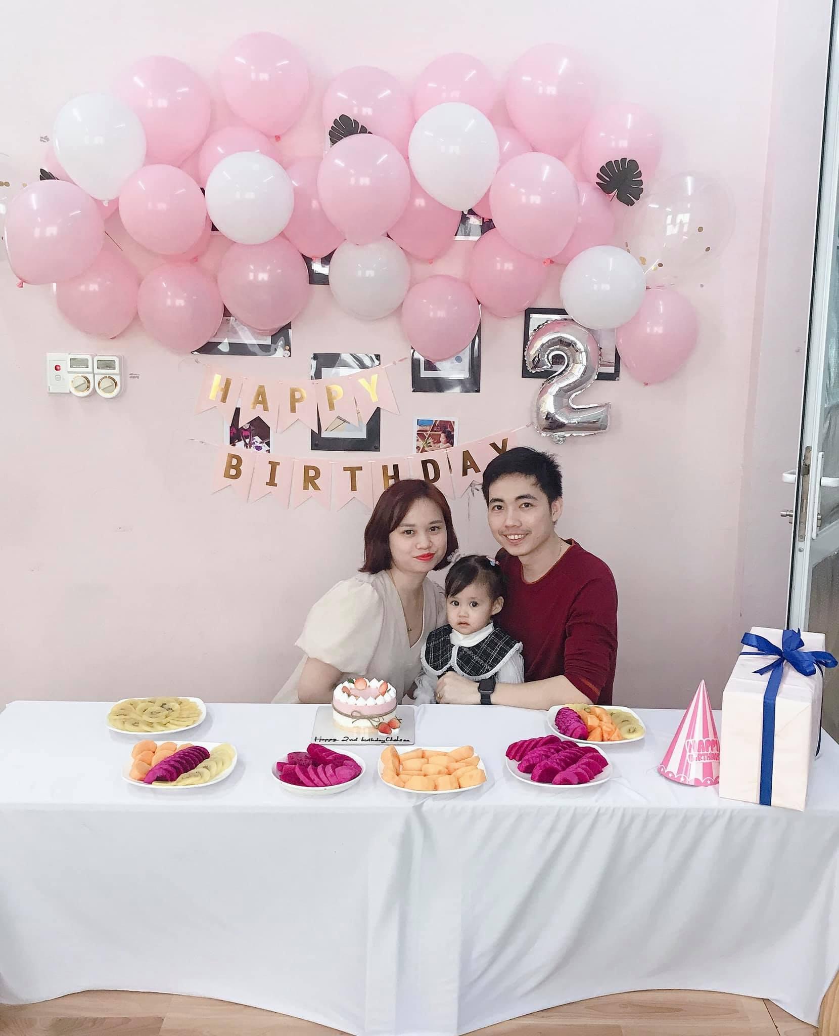 Tổ ấm nhỏ của hai vợ chồng chị Vân Anh cùng cô con gái 3 tuổi. Ảnh do nhân vật cung cấp