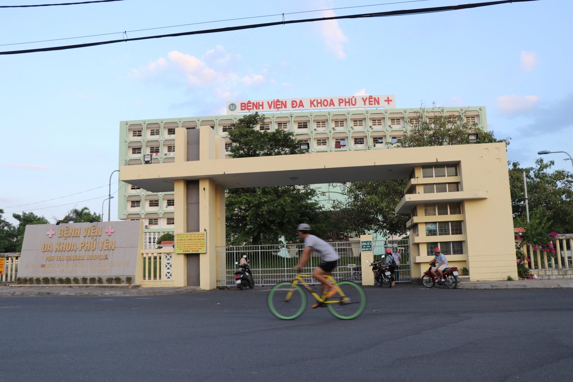 Bệnh viện Đa khoa Phú Yên, nơi điều trị bệnh nhân mắc COVID-19
