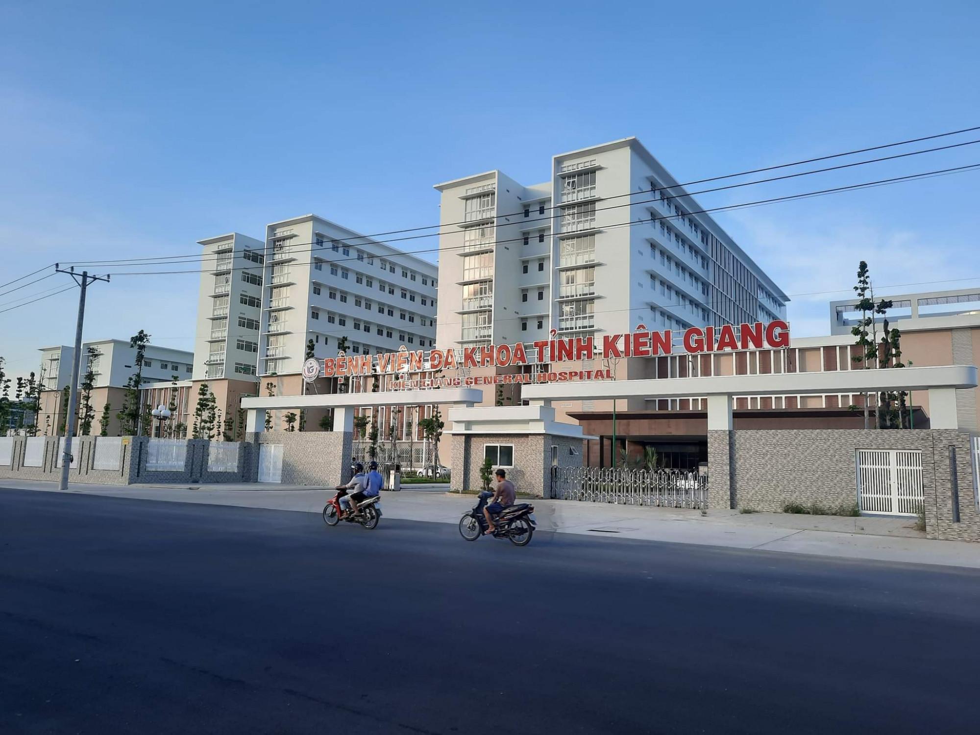 Bệnh viện đa khoa tỉnh Kiên Giang tạm ngưng chuyển bệnh nhân đến và khám ngoại trú
