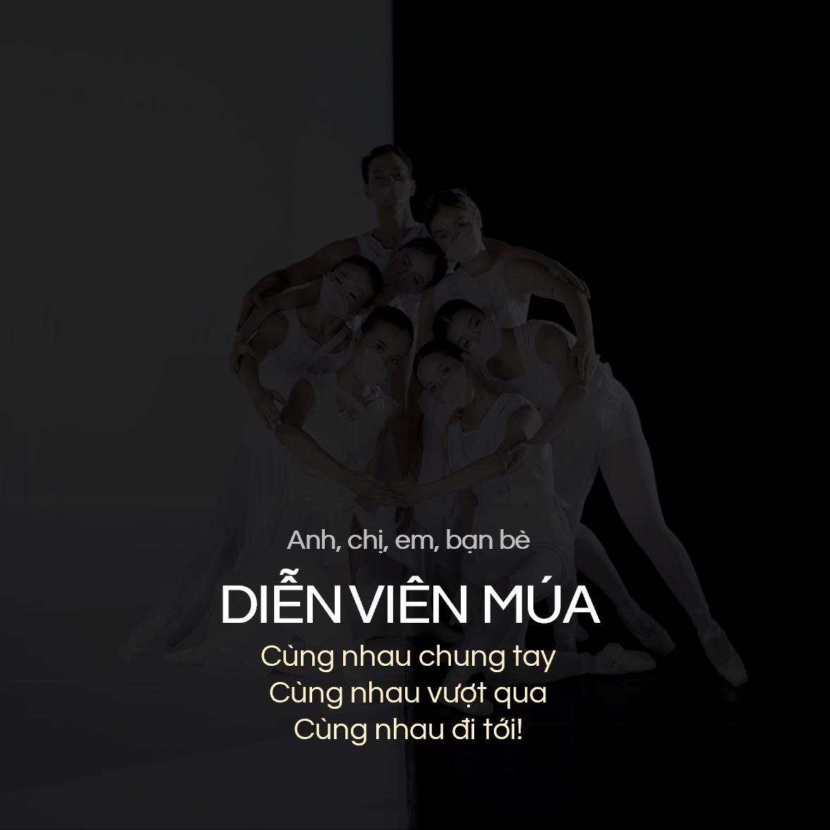Hình ảnh được dùng khi nhóm của nghệ sĩ múa Tấn Lộc đăng nội dung hỗ trợ.