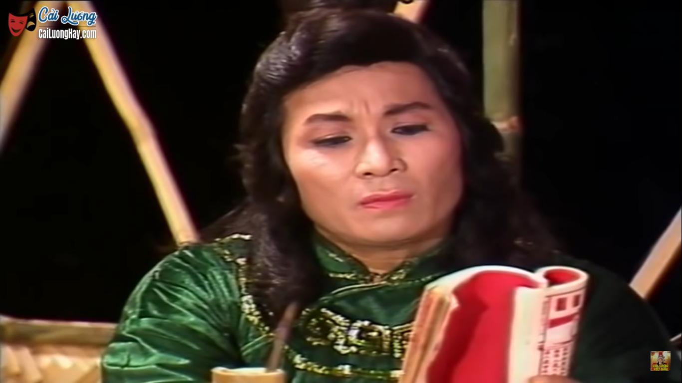 Hoàng tử sân khấu - cố NSƯT Minh Phụng vai Lưu Bình, trong vở Lưu Bình - Dương Lễ