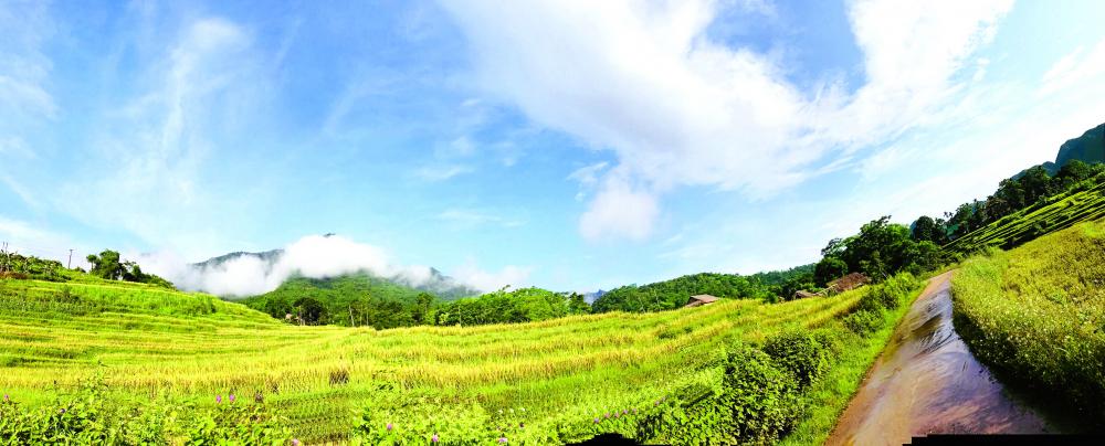 """Pù Luông được ví như là """"tiểu Bali của Việt Nam"""""""
