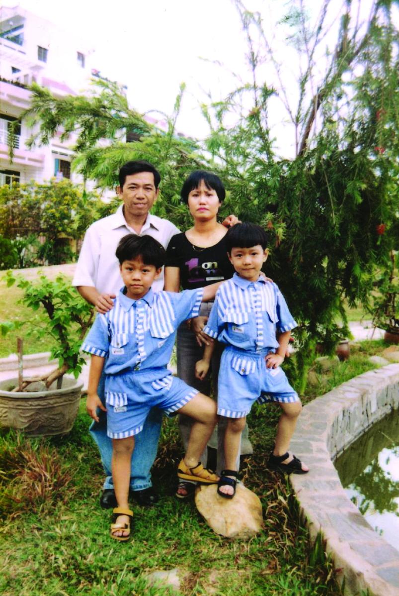 Gia đình - nơi gieo tình yêu sách cho anh Nguyễn Phạm Hồng Phước