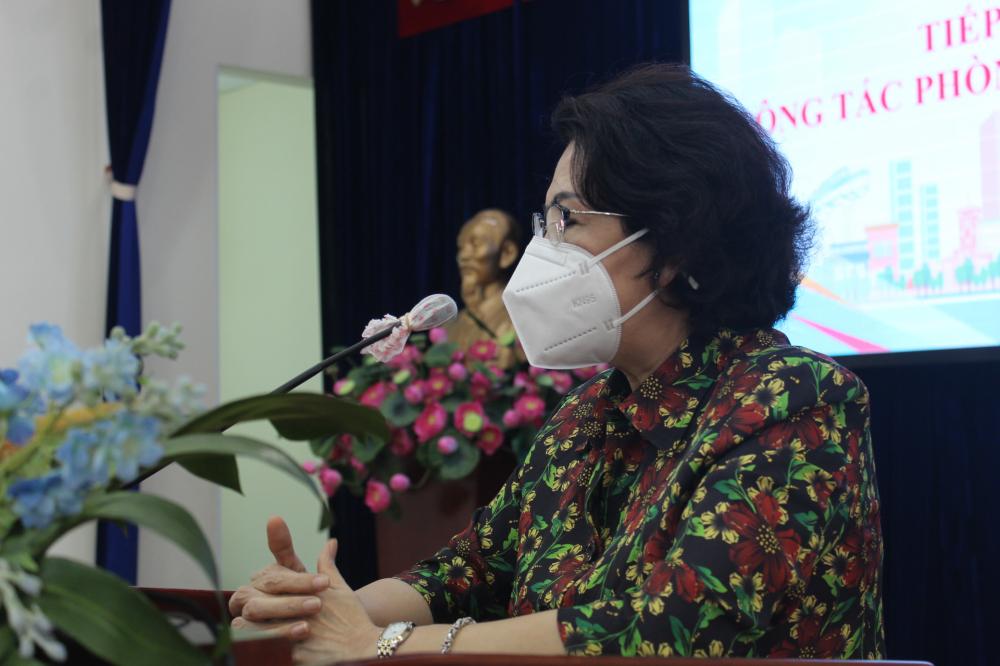 Chủ tịch Ủy ban MTTQ Việt Nam TPHCM ghi nhận nghĩa cử cao đẹp của các cơ quan ngoại giao, cộng đồng doanh nghiệp và người nước ngoài đang làm việc, sinh sống tại TPHCM cho công tác phòng, chống dịch COVID-19.