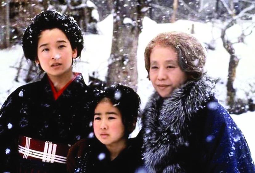 Ba diễn viên đóng vai Oshin theo từng giai đoạn cuộc đời - ẢNH: CNA