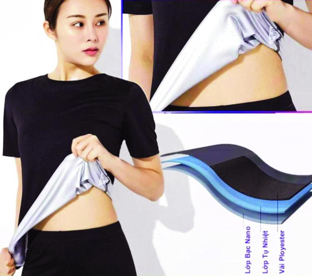 """Sản phẩm áo sinh nhiệt giúp giảm cân đang được nhiều chị em """"săn lùng"""""""