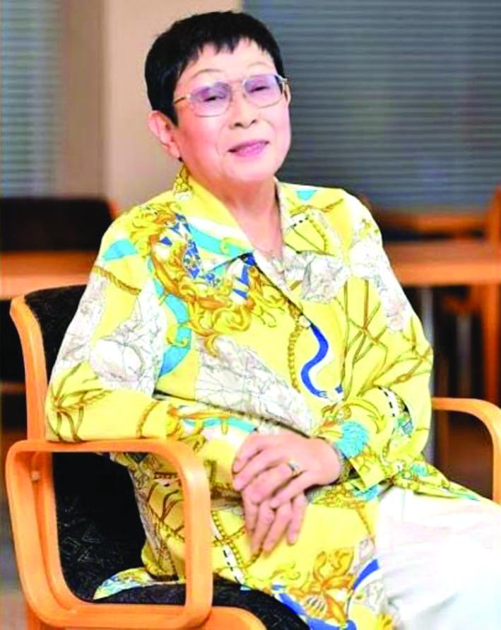 Nữ biên kịch Sugako Hashida - mẹ đẻ của  bộ phim Oshin - ẢNH: BBC