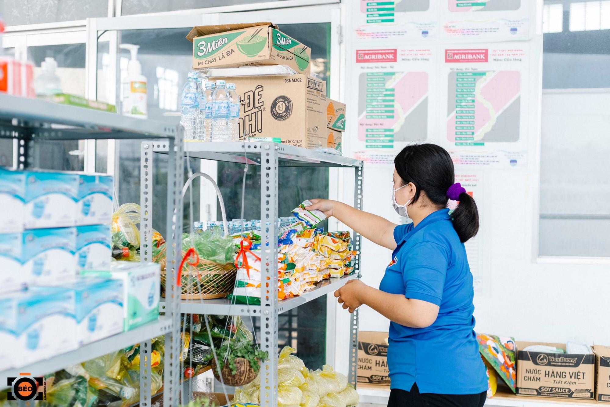 Siêu thị 0 đồng không phát trực tiếp nhu yếu phẩm tại Trung tâm hoạt động thanh thiếu nhi mà sẽ phân phối cho từng địa phương