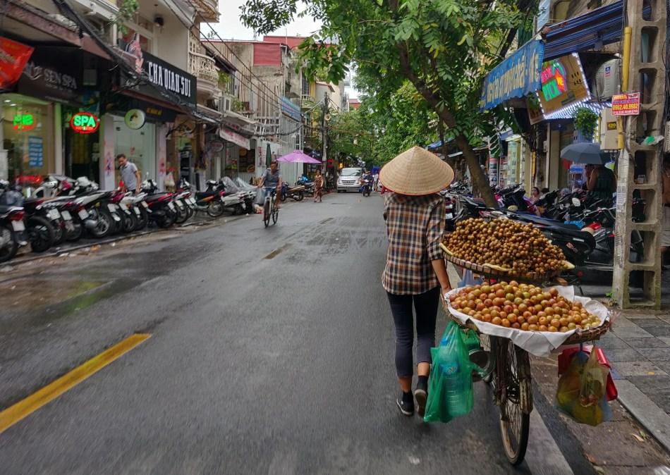 Phố cổ ở Hà Nội - Ảnh: ilaredd