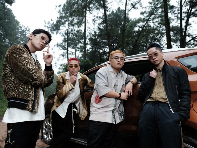 Các thành viên của nhóm Da LAB
