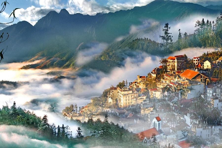 Sapa - Thành phố trong mây - Ảnh: guidevietnam