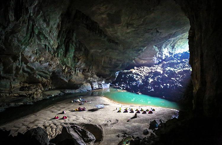 Vườn quốc gia Phong Nha - Kẻ Bàng tại tỉnh Quảng Bình - Ảnh: worldnomads