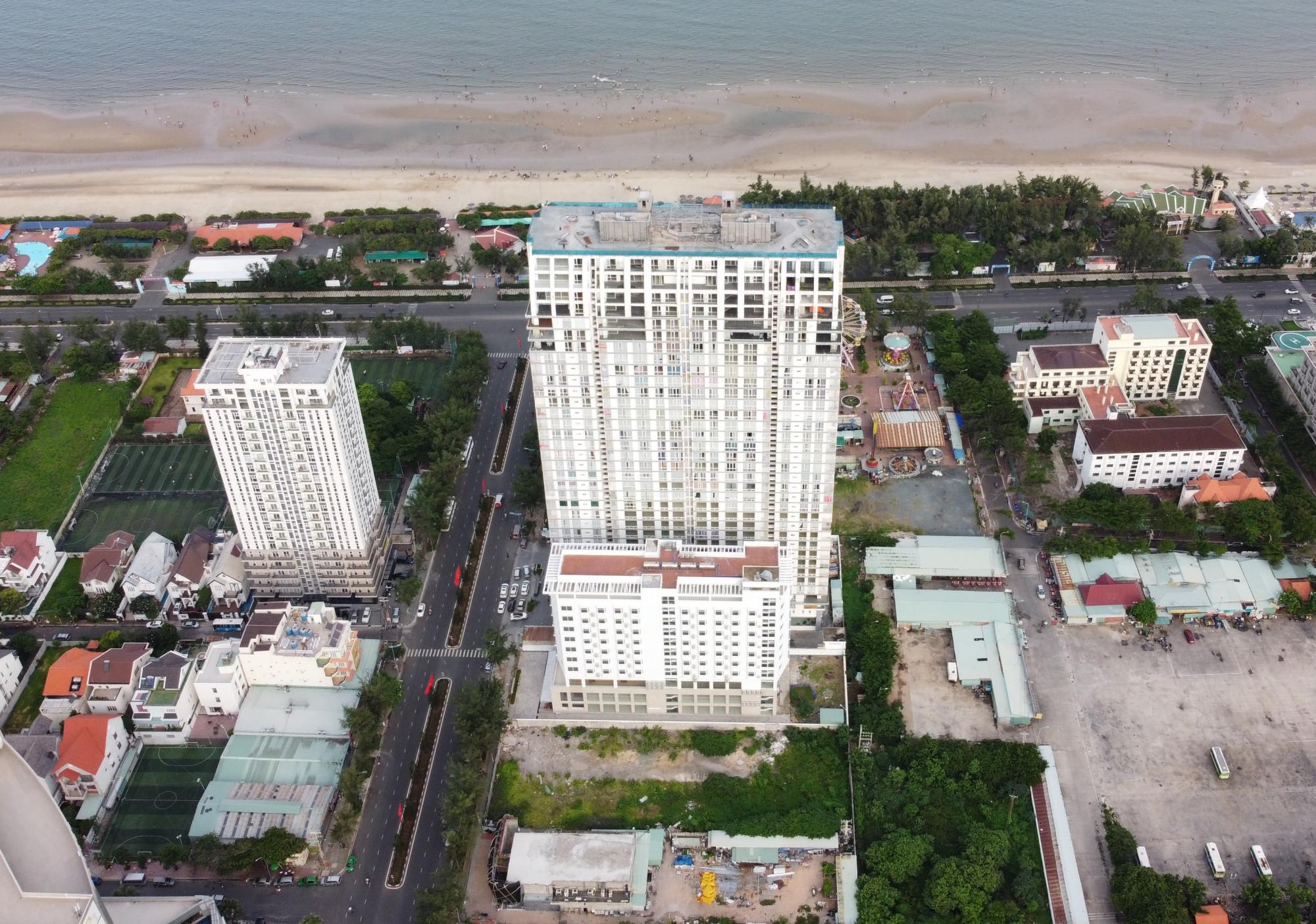 Cao ốc Sơn Thịnh 2, TP Vũng Tàu. Ảnh: Trường Nguyên.
