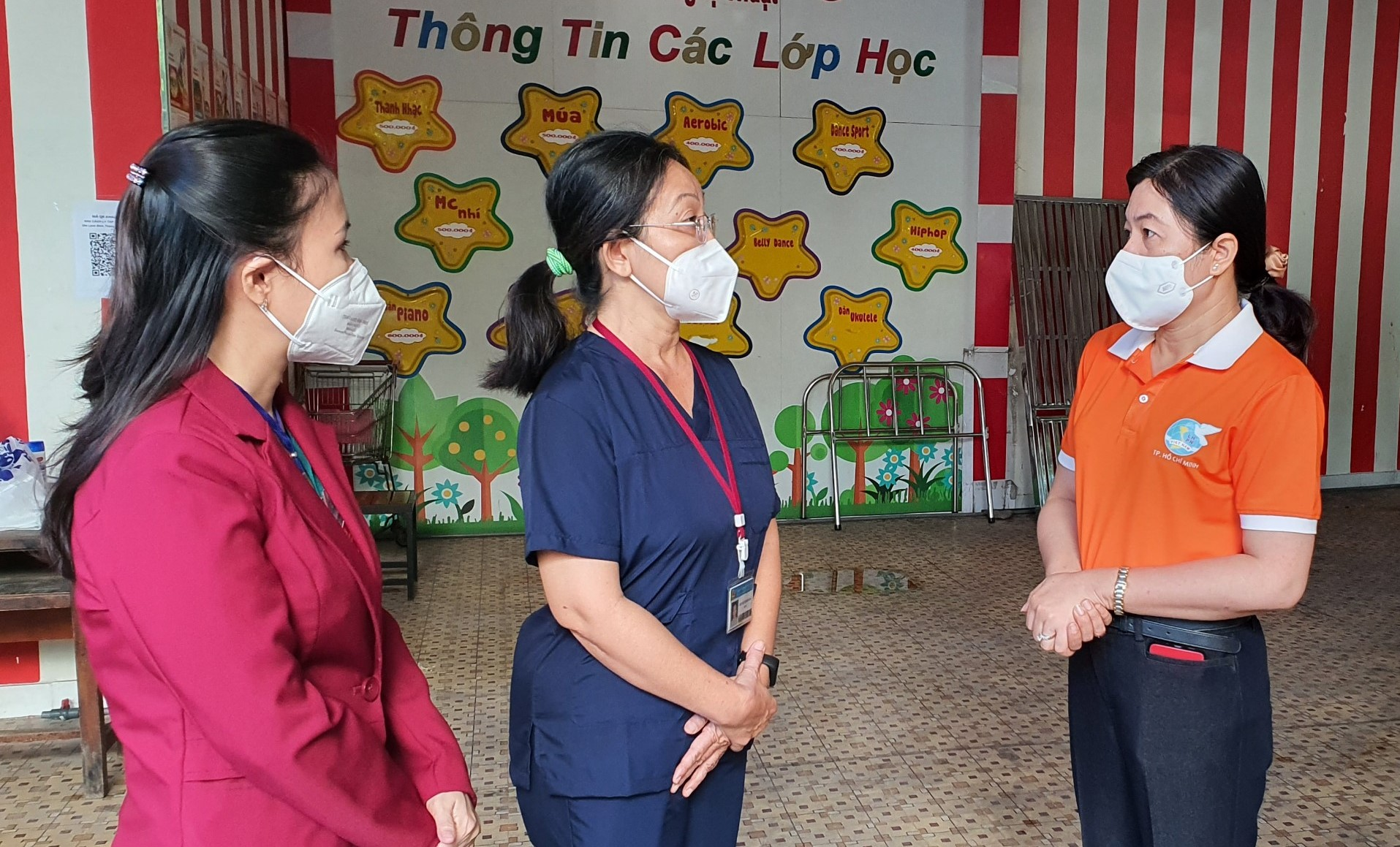 Đoàn Hội LHPN TPHCM đến thăm
