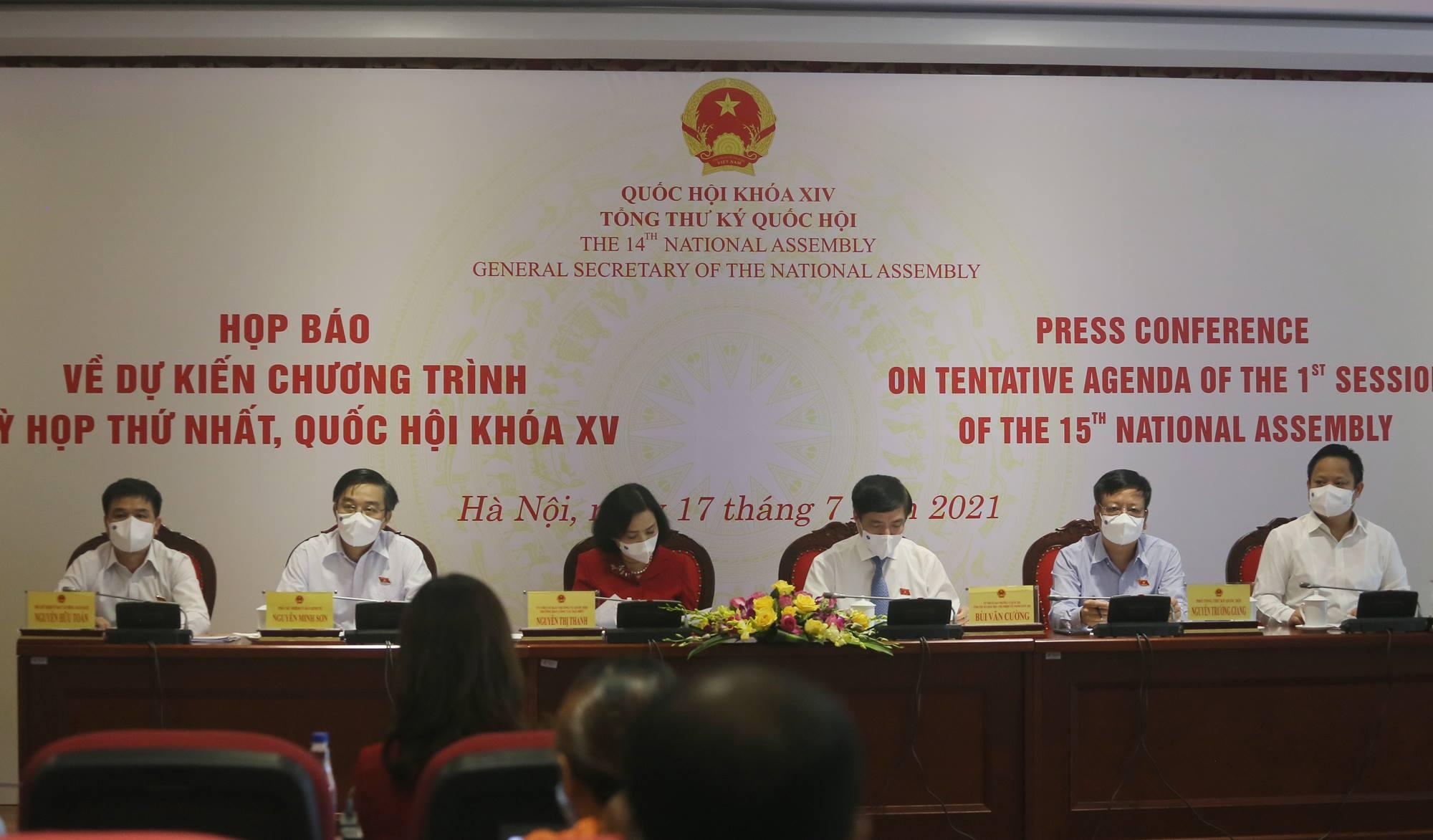 Kỳ họp Quốc hội lần này sẽ kiện toàn 50 chức danh của Chính phủ, Quốc hội và Quốc phòng An ninh