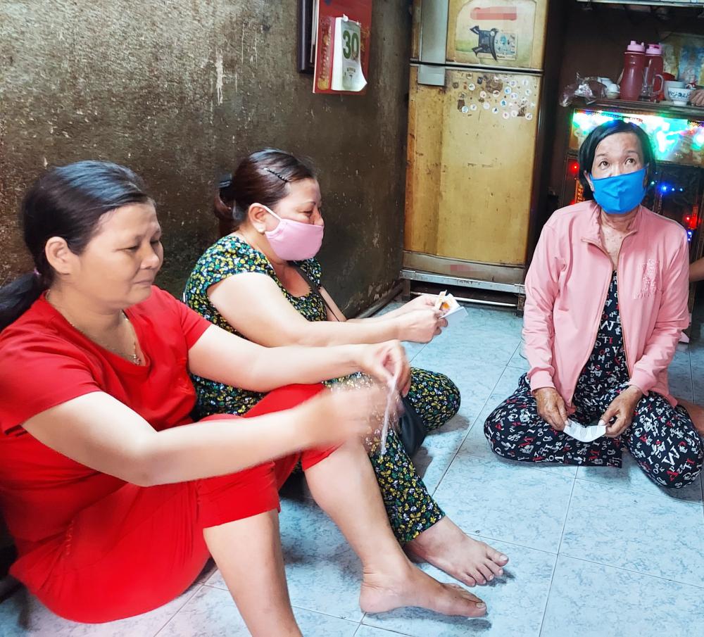 Có khoảng 5.000 người Quảng Ngãi ở TP.HCM là lao động tự do, sinh viên gặp khó khăn trong đại dịch, cần được hỗ trợ - ẢNH: SƠN VINH