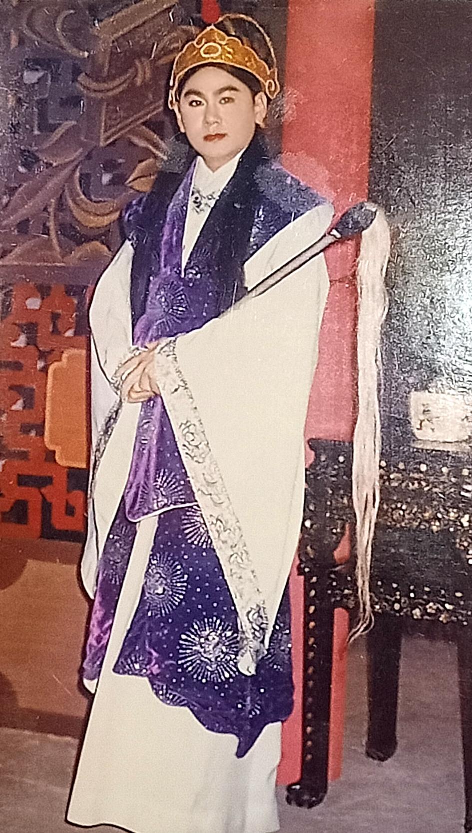Nghệ sĩ Công Minh trong vai Quách Hòe (vở Bích Vân Cung kỳ án)