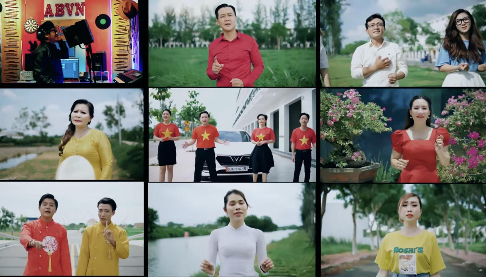 Nhiều ca sĩ tham gia MV Cố lên Việt Nam