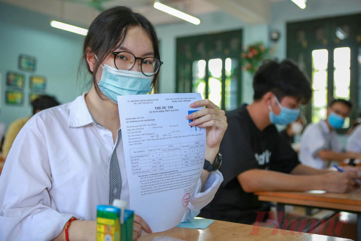 Bộ GD-ĐT đề nghị các Sở GD-ĐT tiếp nhận thí sinh của hội đồng thi khác nếu thí sinh có nguyện vọng