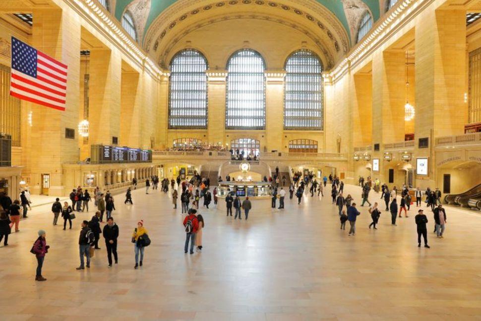 Sảnh Nhà ga Trung tâm Grand ở New York, Mỹ. Ảnh chụp ngày 12/3/2020 - Ảnh: Reuters