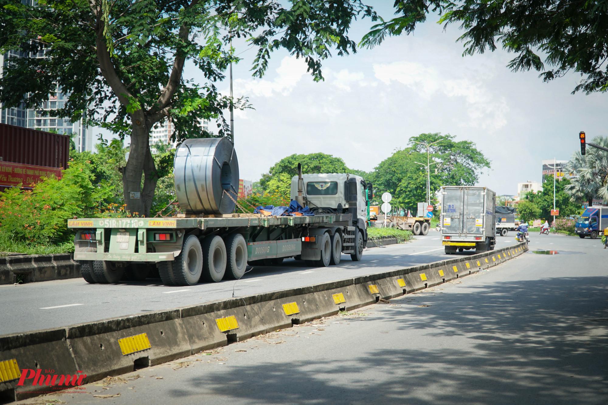 Khi đường được mở rộng, hiện tượng thắt cổ chai do lượng phương tiện lưu thông lớn sẽ được giải quyết