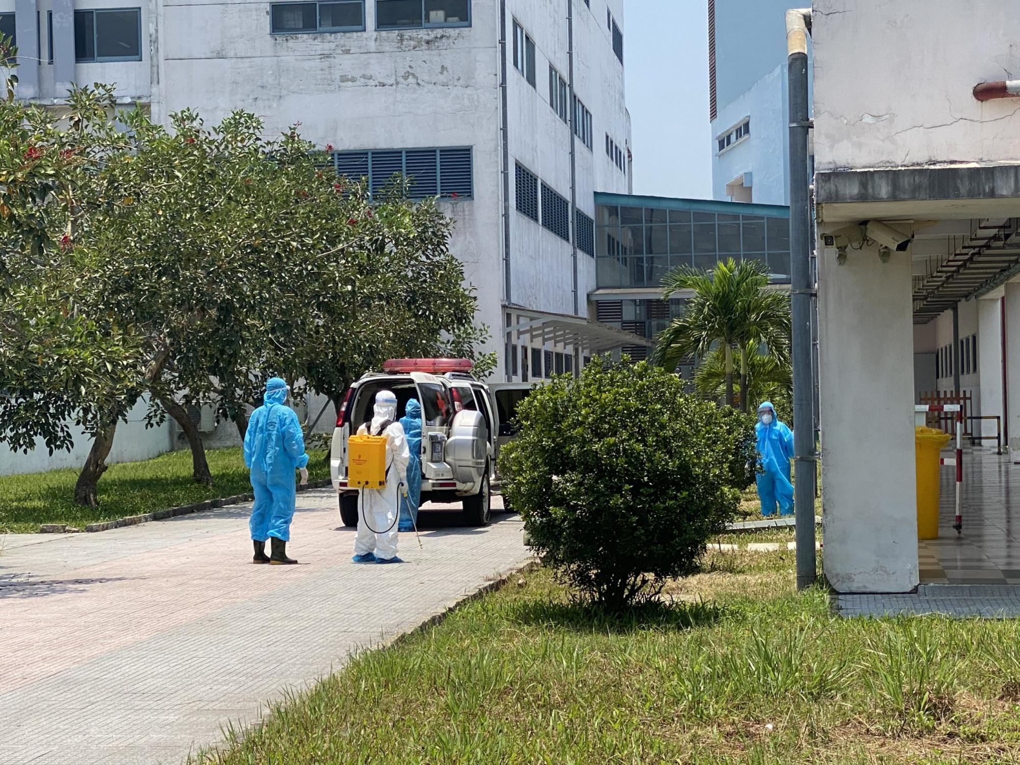 Khu cách ly điều trị bệnh nhân mắc COVID-19 tại Cơ sở 2 Bệnh viện T.Ư Huế