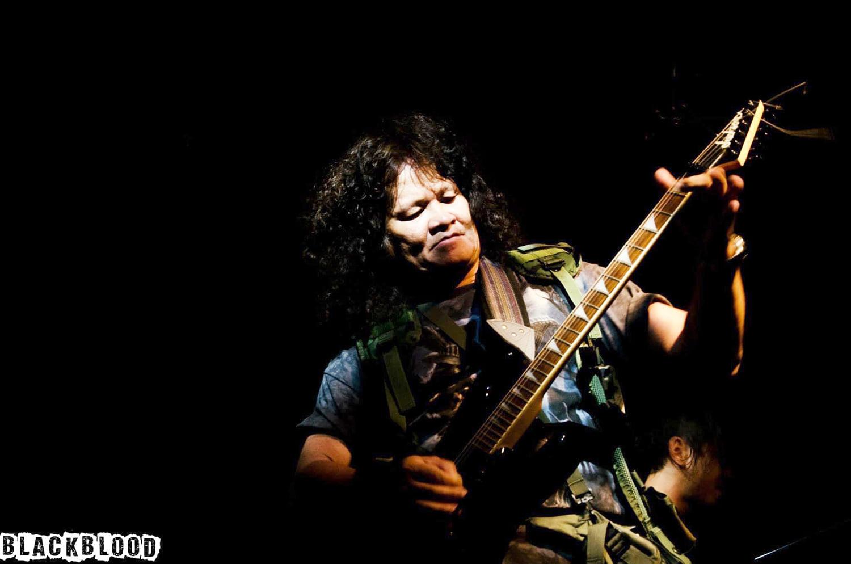 Rocker Trung Thành, một trong những rocker lão làng của nhạc Việt.