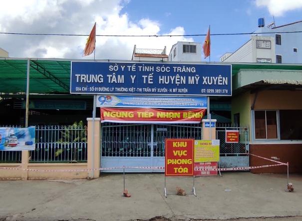 Khởi tố vụ án làm lây lan dịch ở xã Tham Đôn, huyện Mỹ Xuyên, tỉnh Sóc Trăng. Ảnh: CTV.