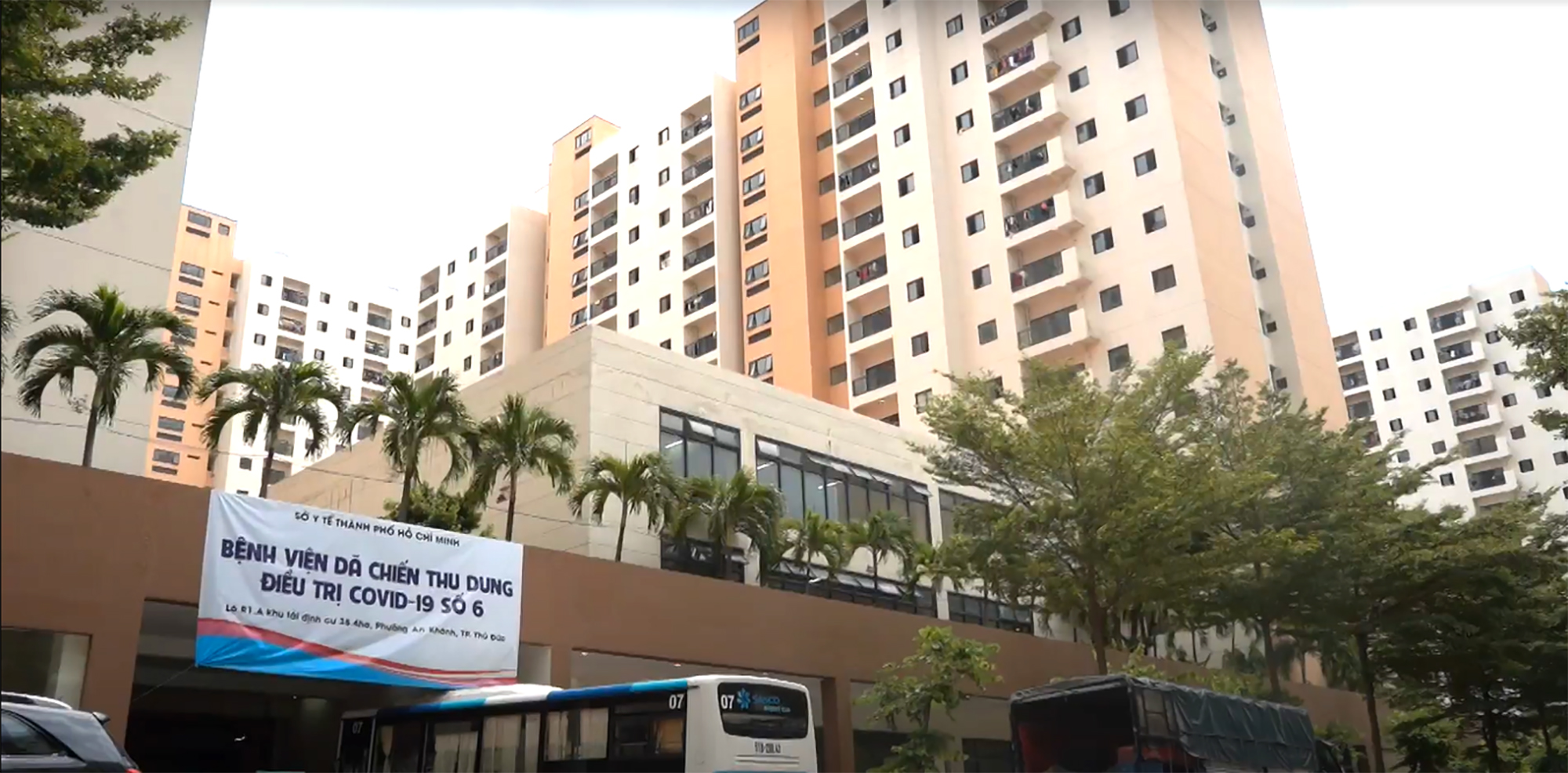 Bệnh viện dã chiến số 6 tại TPHCM