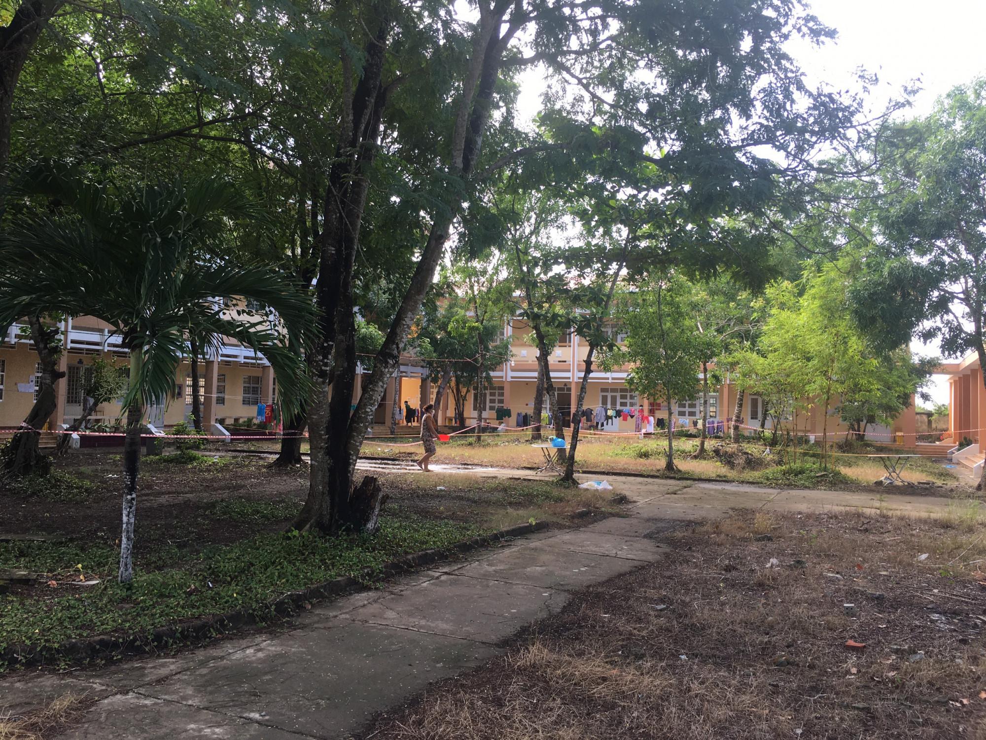 Bên trong một khu cách ly y tế trên địa bàn tỉnh Tiền Giang