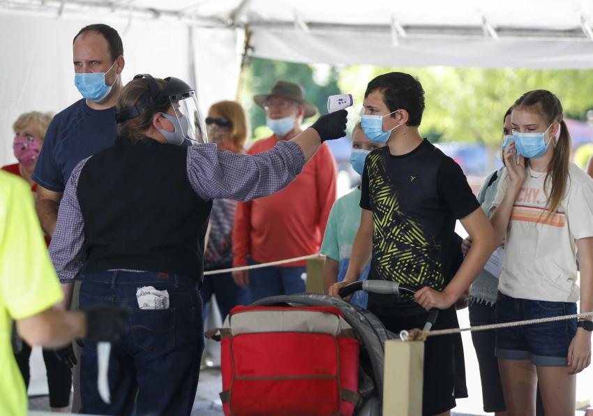 Số ca nhiễm SARS-CoV-2 tăng mạnh trong vài tuần qua tại Mỹ.