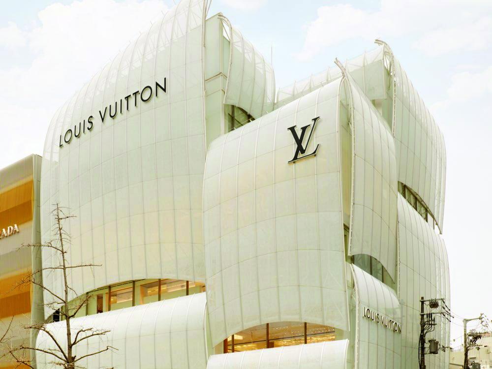 Cửa hàng Louis Vuitton ở Osaka, Nhật Bản