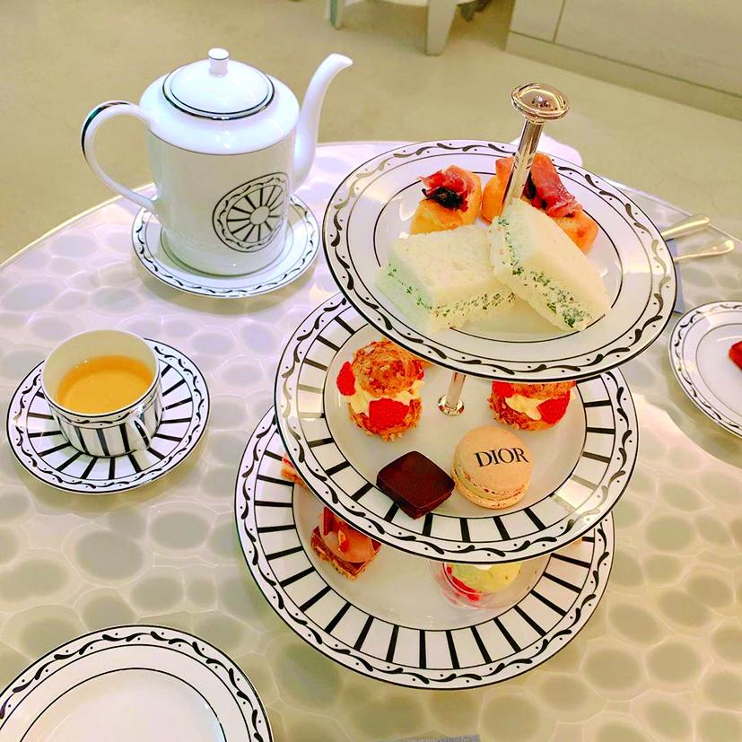 Một phần ăn tại Dior Coffee