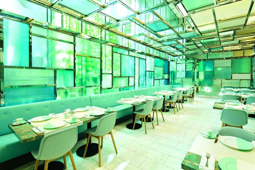 Không gian bên trong Le Café V