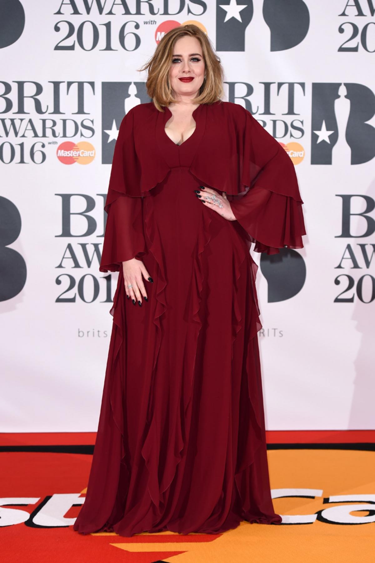 Adele khi chưa giảm cân