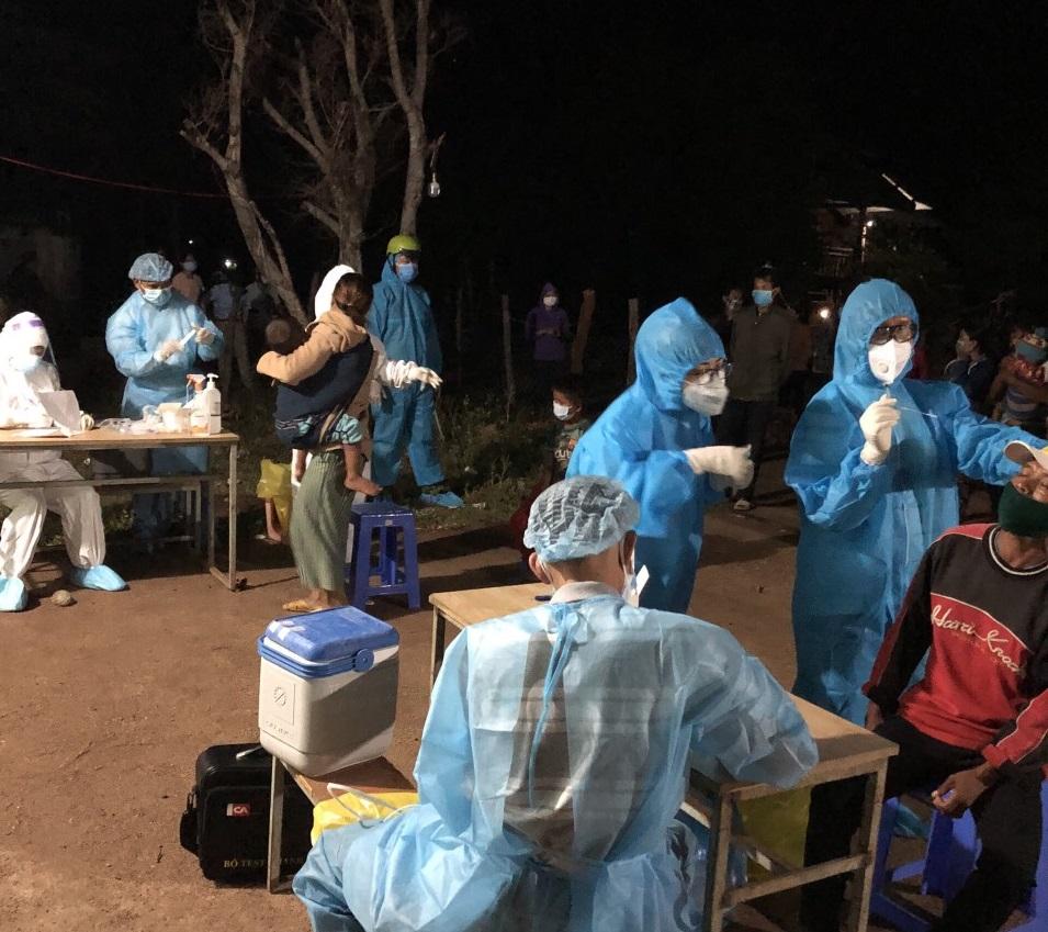 Tỉnh Gia Lai vừa ghi nhận thêm 4 trường hợp dương tính với SARS-CoV-2