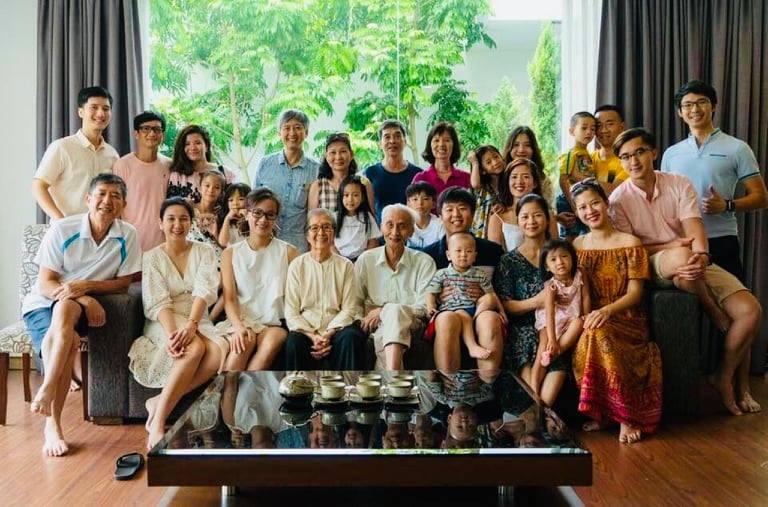Gia đình Phó Giáo sư - Tiến sĩ - Bác sĩ Đỗ Doãn Đại