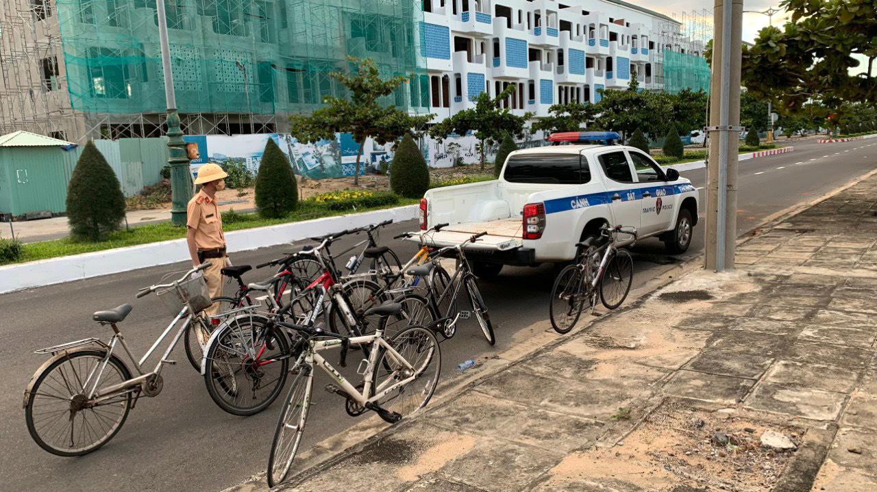 Trên đường Hùng Vương, TP. Tuy Hòa (Phú Yên)