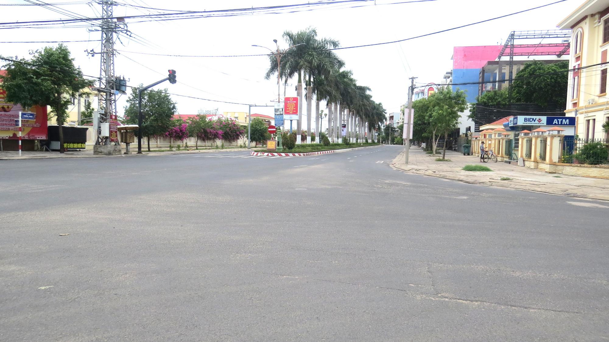 Ngã tư Trần Phú- Lê Thành Phương TP. Tuy Hòa (Phú Yên)