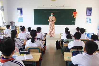Học sinh Long An- Ảnh: laodong.vn