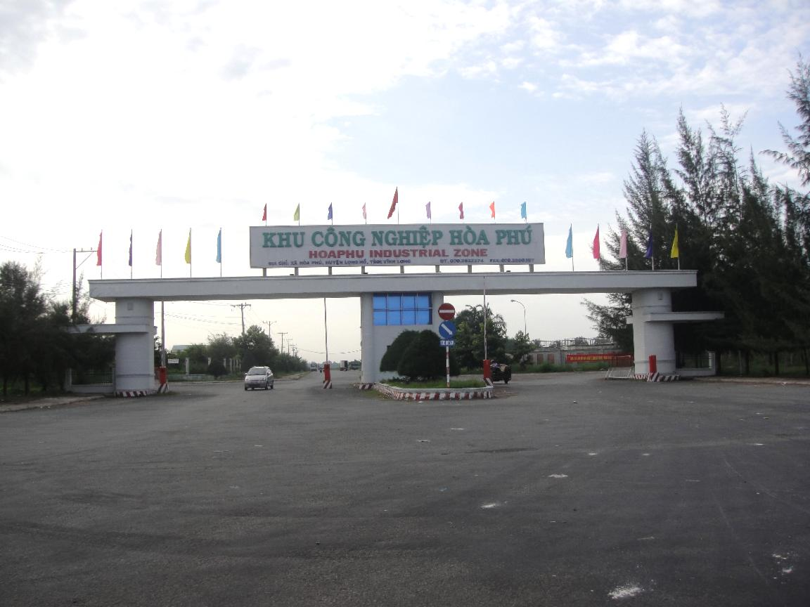 Khu công nghiệp Hòa Phú - nơi có các ca nhiễm COVID-19 cộng đồng