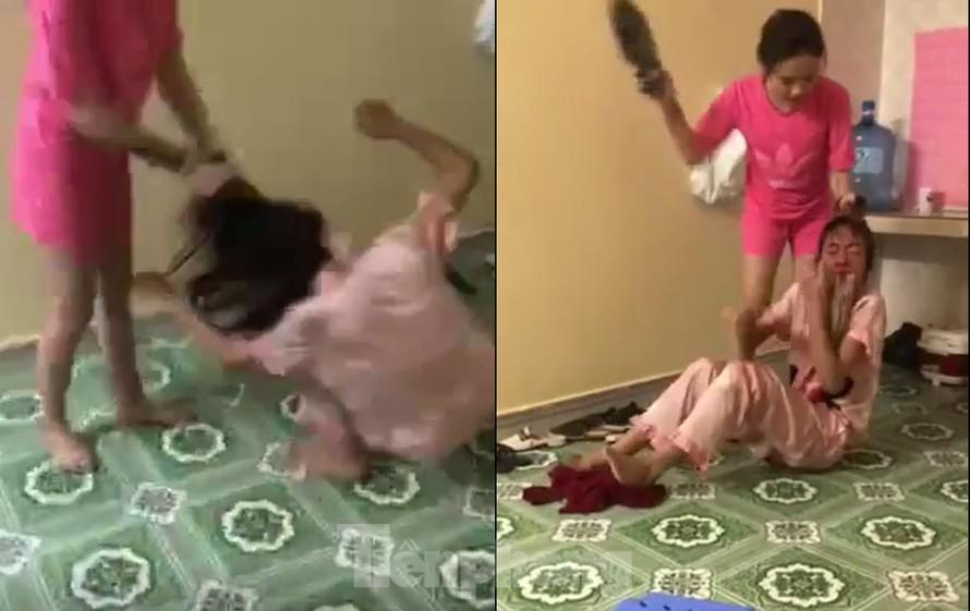 Cô gái bị nhóm bạn bạo hành như thời trung cổ