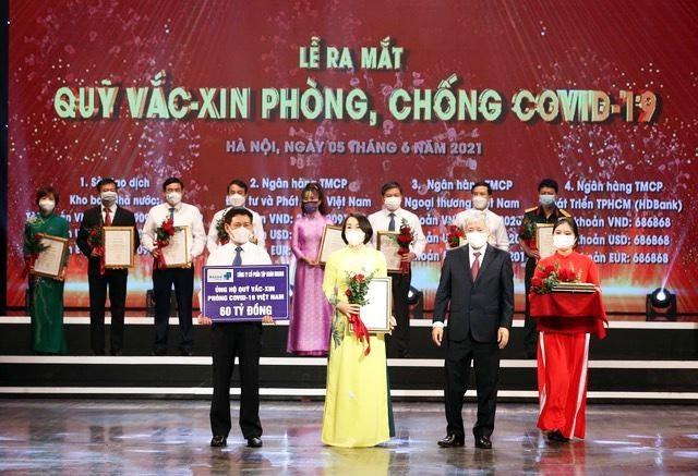 Tập đoàn Masan ủng hộ 60 tỷ đồng vào Quỹ Vắc xin phòng COVID-19 - Ảnh: Masan