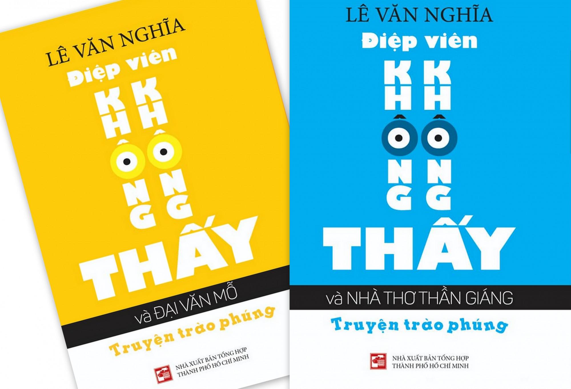 Hai cuốn sách mới đang trong nhà in của nhà văn Lê Văn Nghĩa