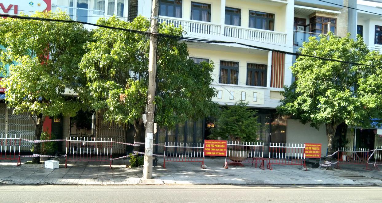 Khu phong tỏa phòng chống COVID-19 ở TP Tuy Hòa (Phú Yên)
